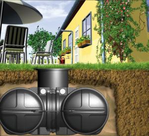 Regenwater tank